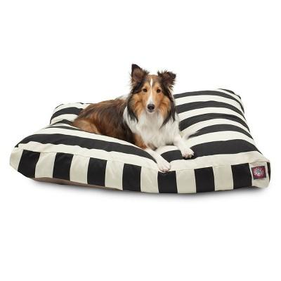 Majestic Pet Vertical Stripe Rectangle Dog Bed