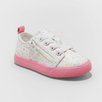 Toddler Girls' Luka Accessible Sneakers - Cat & Jack™