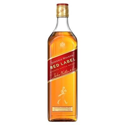Johnnie Walker Red Label Scotch Whiskey - 750ml Bottle