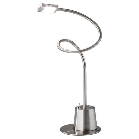 Adesso Eternity LED Extendible Gooseneck Lamp - Silver - image 1 of 2