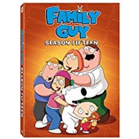 Family Guy Season 15 (DVD) - image 1 of 1