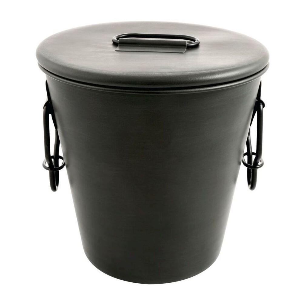 Image of Cambridge Dunham Gunmetal 3 qt Ice Bucket, Dark Grey