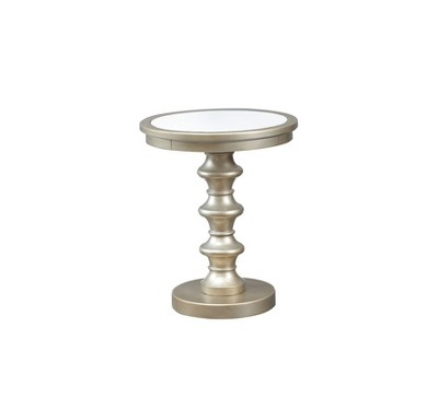 Leyla Pedestal Accent Table   Powell Company
