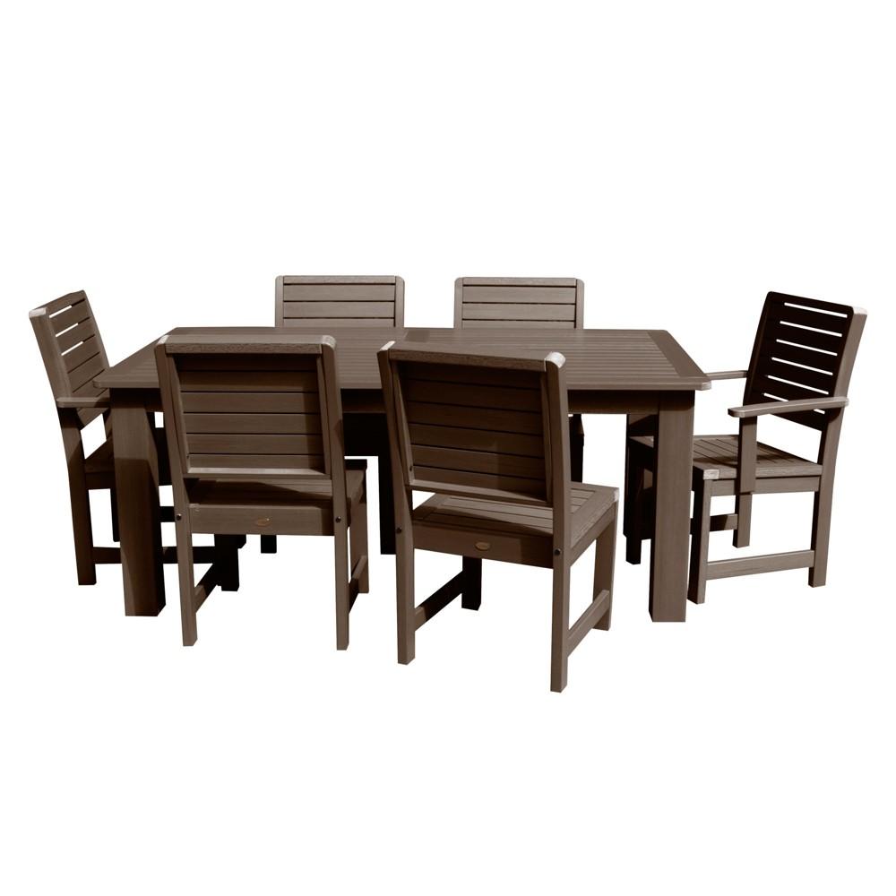 Weatherly 7pc Rectangular Dining Set 84