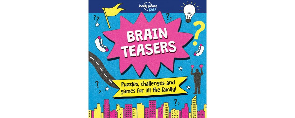 Brain Teasers - (Lonely Planet Kids) by Sally Morgan (Pap...
