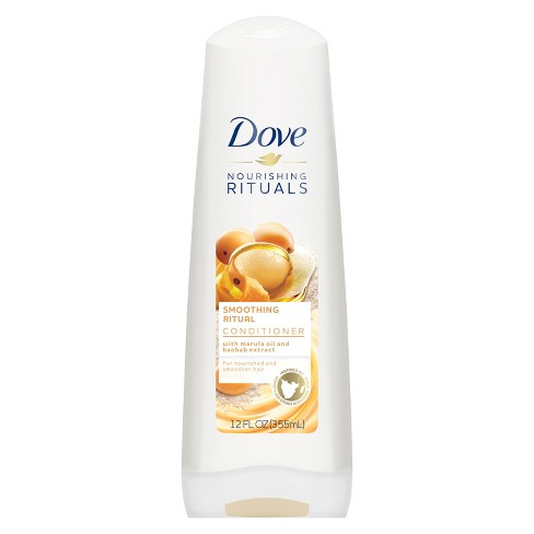 Dove Beauty Smoothing Ritual Marula Oil Conditioner - 12 fl oz - image 1 of 4