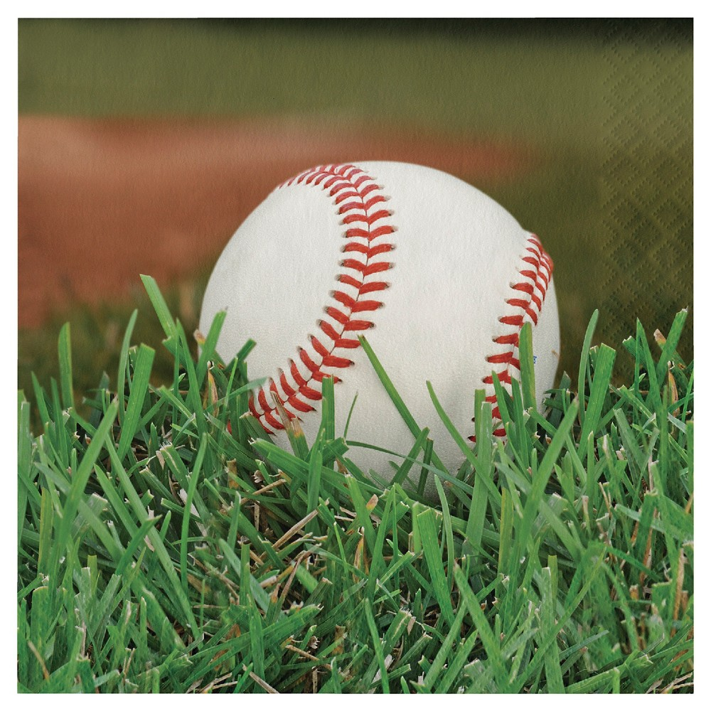 Cheap Sports Fanatic Baseball Napkins 18 pk