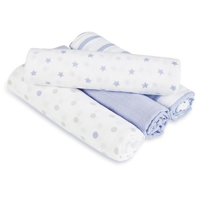 Aden® by Aden + Anais® Swaddle - 4pk - Dashing
