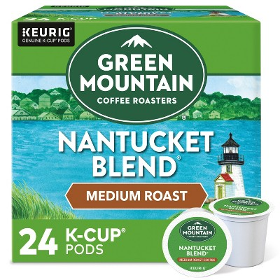 Green Mountain Coffee Nantucket Blend Keurig K-Cup Coffee Pods - Medium Roast - 24ct