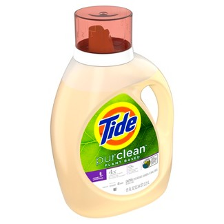 Tide PurClean Plant Based Honey Lavender Liquid Laundry Detergent - 75 fl oz