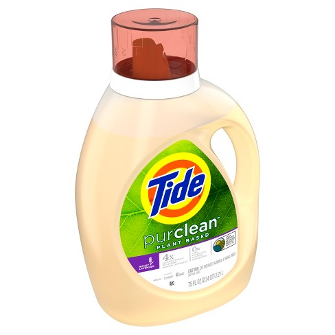 Tide PurClean Honey Lavender HEC Liquid Laundry Detergent - 48 Loads 75 oz - image 1 of 4