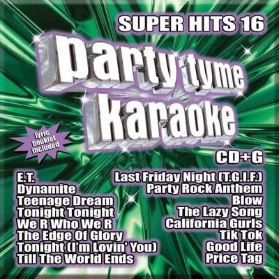 Karaoke - Party Tyme Karaoke - Super Hits 16 (CD)