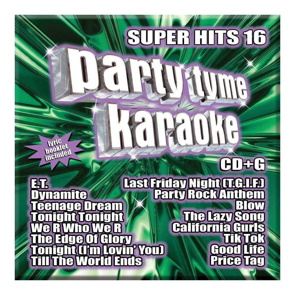 Karaoke - Party Tyme Karaoke - Super Hits 16 (CD) Promos