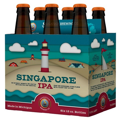 Saugatuck® Singapore IPA - 6pk / 12oz Bottles - image 1 of 1