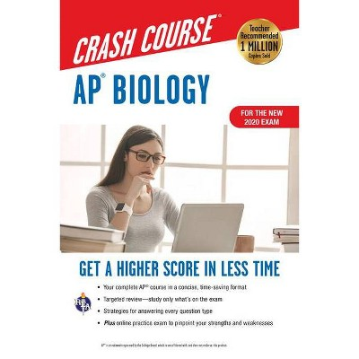 Ap(r) Biology Crash Course, Book + Online - (Advanced Placement (AP) Crash Course) 3rd Edition by  Michael D'Alessio (Paperback)