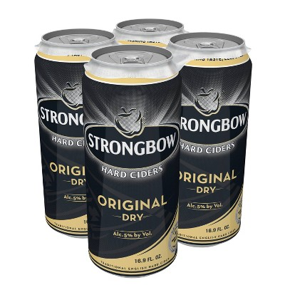 Strongbow Original Dry Hard Cider - 4pk/16.9 fl oz Cans
