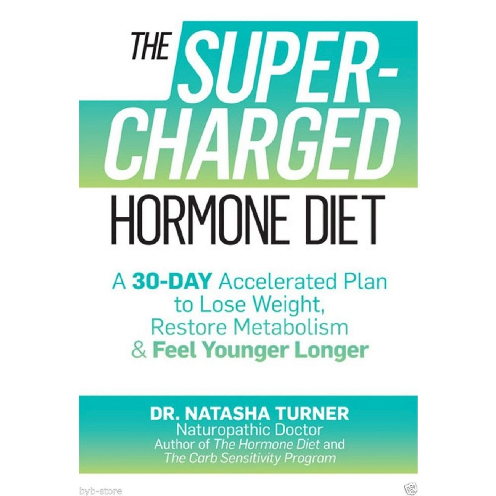 The Supercharged Hormone Diet (Hardcover)