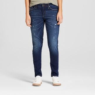 Women's Mid-Rise Skinny Jeans - Universal Thread™ Dark Wash 18
