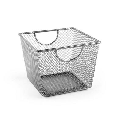 Design Ideas Mesh Storage Bin – Metal Storage Bin Organizer