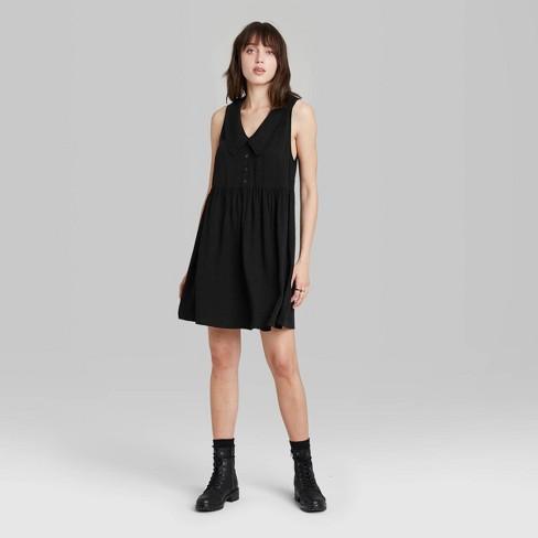 Women's Sleeveless Babydoll Dress - Wild Fable™ - image 1 of 3