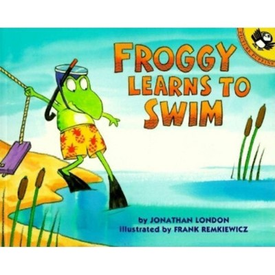 Froggy Learns to Swim - by Jonathan London (Paperback)