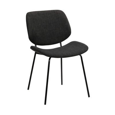 Quest Modern Dining Accent Chair Charcoal - Armen Living