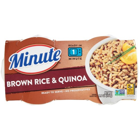 Minute Ready to Serve Brown Rice & Quinoa Cups -2ct - image 1 of 4