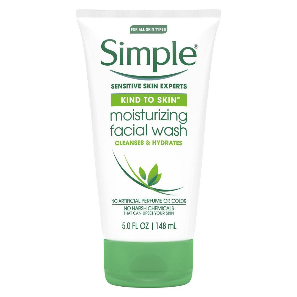 Image of Simple Kind to Skin Moisturizing Facial Wash - 5 fl oz