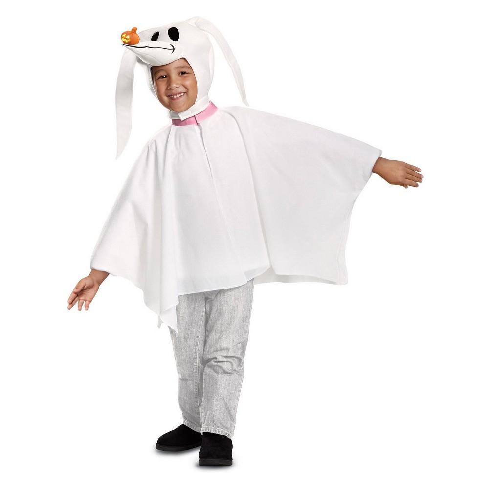 Toddler The Nightmare Before Christmas Zero Halloween Costume 3T-4T, Toddler Unisex, White