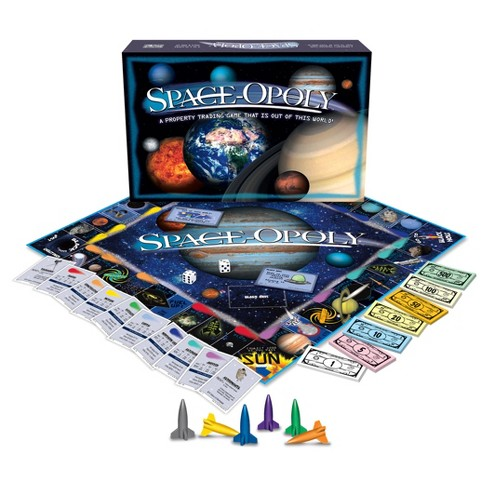 Space opoly Game - image 1 of 3