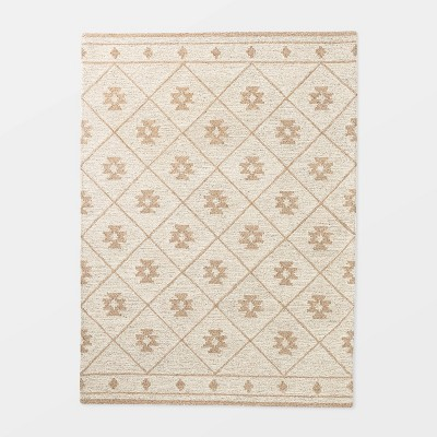 5'x7' Tremonton Hand Tufted Wool Area Rug Cream - Threshold™ designed by Studio McGee