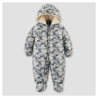 Toddler Boys' Snowsuit - Just One You® made by carter's Gray 9M