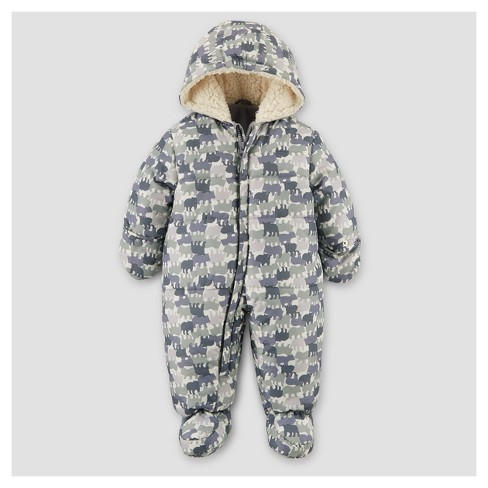 c2f022f6b Baby Boys  Snowsuit - Just One You™ Made By Carter s® Gray Newborn ...