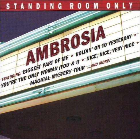 Ambrosia - Standing room only (CD) - image 1 of 1