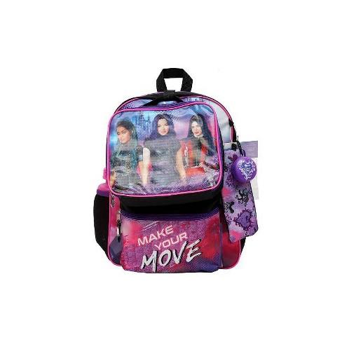 """Disney 16"""" Kids' Descendants Backpack - 7pc Set - image 1 of 9"""