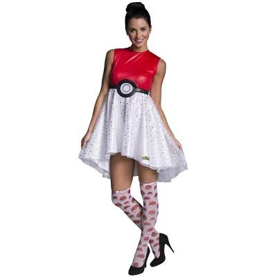 Rubie's Pokemon Pokeball Women's Costume Dress