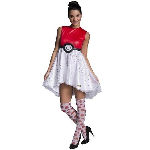 Rubie's Pokemon Pokeball Women's Costume Dress - image 1 of 1