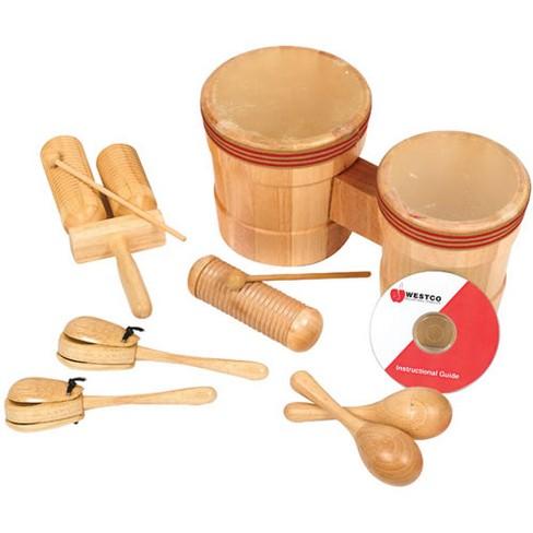 Westco Jr. Latin American Wooden Rhythm Instruments Kit - image 1 of 3