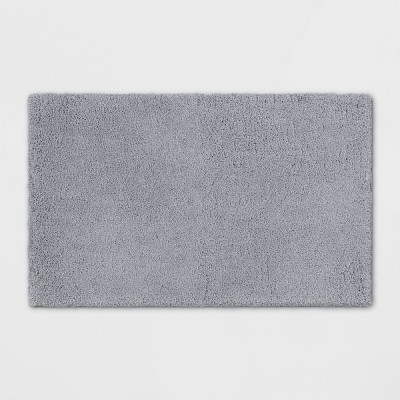 "21""x34"" Bath Rug Light Gray - Threshold Signature™"