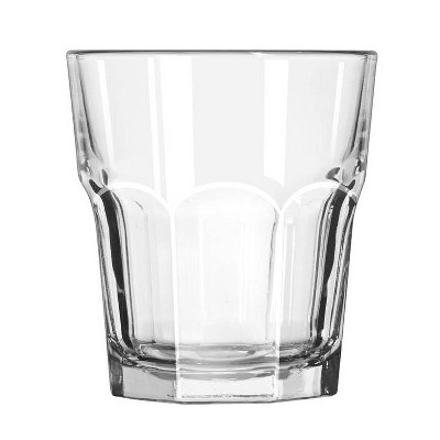 12oz Glass Tremont Short Faceted Tumbler - Threshold™