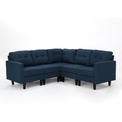 5pc Emmie Sectional Sofa - Christopher Knight Home
