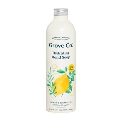 Grove Co. Hydrating Hand Soap - Lemon & Eucalyptus - 13oz
