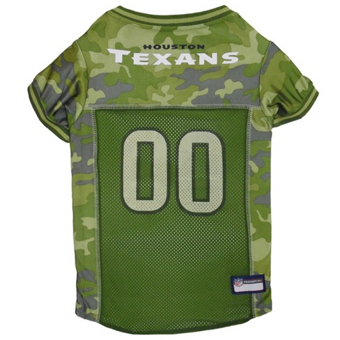 NFL Pets First Camo Pet Football Jersey - Houston Texans - image 1 of 2