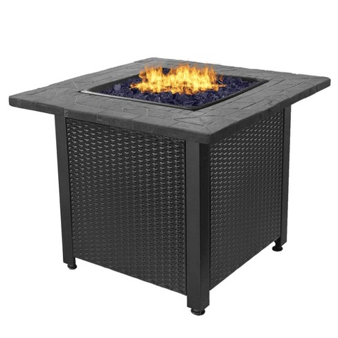 Endless Summer Gad1401gb 30 Inch All Weather Outdoor Patio Lp Gas Fire Pit Table Target