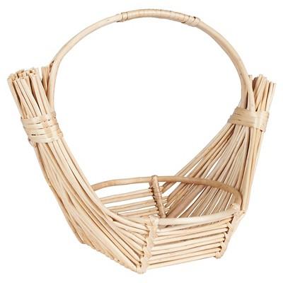 Household Essentials - Wicker Fruit Basket - Natural