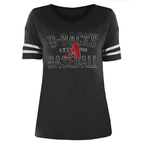 MLB Arizona Diamondbacks Women's Dugout Poly Rayon T-Shirt - image 1 of 1
