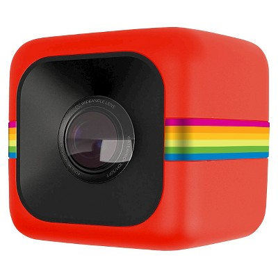 Polaroid Cube Lifestyle Action Cam - Red