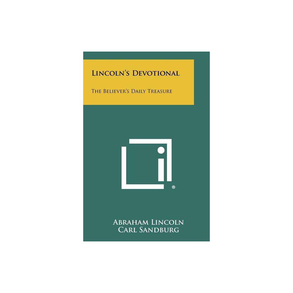 Lincoln S Devotional By Abraham Lincoln Paperback