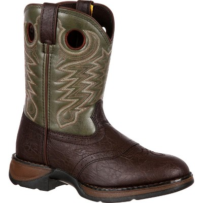 LIL' DURANGO Boys Little Kid Brown Saddle Western Boot