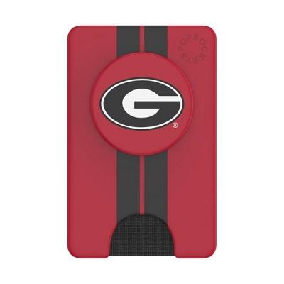 NCAA Georgia Bulldogs PopSockets PopWallet+ (with PopTop)